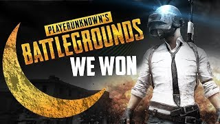 WE WON THE GAME!!!! PUBG MOBILE NEW MAP DESERT!!!!