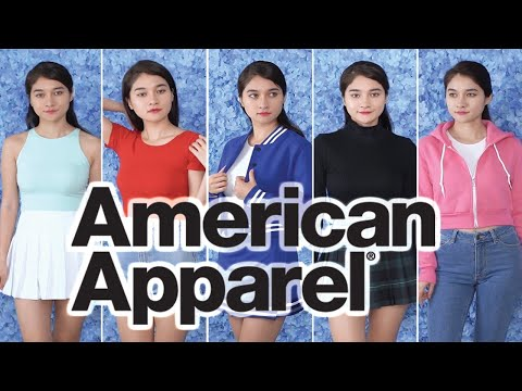 American Apparel Try-on Haul