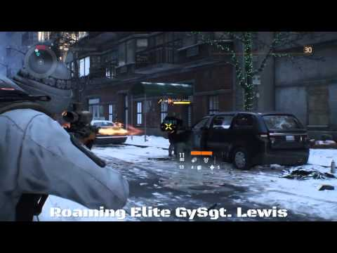 Tom Clancy's The Division: Where to find Roaming Elite Boss GySgt. Lewis w/ location