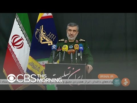 Iran admits responsibility