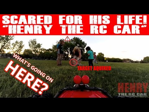"""SCARED FOR HIS LIFE """"HENRY THE RC CAR""""! (EPISODE #95)"""