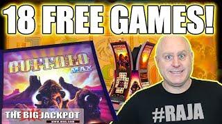 18 Free Games! 💸NEW GAME Buffalo Max Slots 🎰  The Big Jackpot