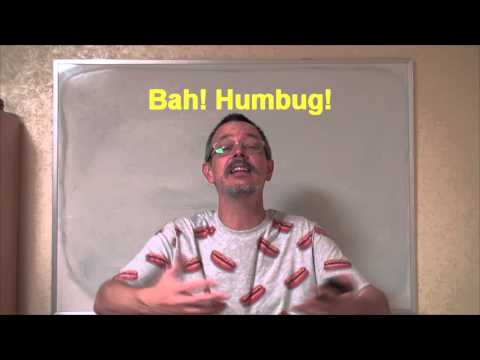Learn English: Daily Easy English Expression 0326: Bah! Humbug!