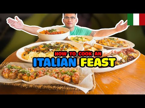 How to cook an ITALIAN FEAST