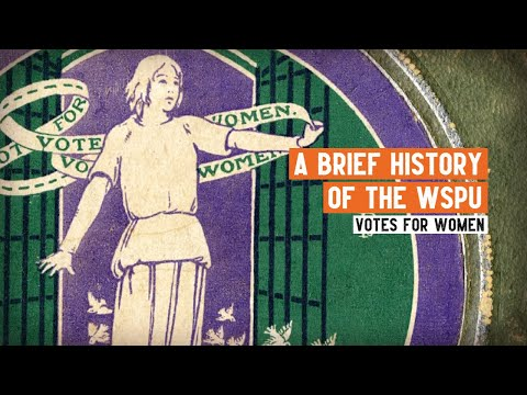 Women's Suffrage | What was the Women's Social and Political Union?
