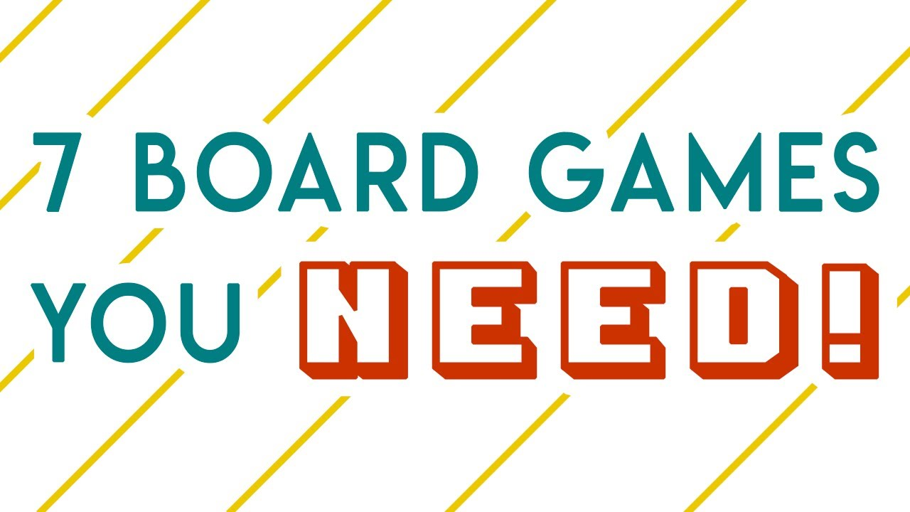 Board games you HAVE to try! – MOST FUN Board Games I Played in 2019 | Part 1/3