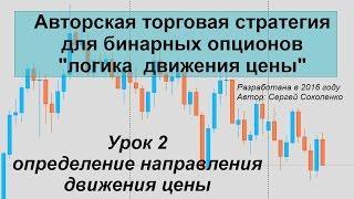 Урок 2 движение цены
