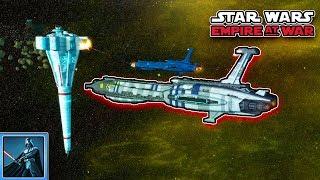 SEPARATISTEN gegen REPUBLIK - Lets Play Star Wars Empire at War Gefecht
