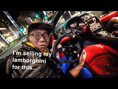 ALEX CHOI FREAKS OVER DUBAI LAMBORGHINI STS IN BEVERLY HILLS!