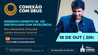 CONEXÃO COM DEUS AO VIVO - Igreja Presbiteriana Unida de São Paulo - 18/10/2021
