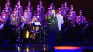 Red Army Choir MVD ; Director and Conductor ; Viktor ELISEEV in Ashdod- Israel. Jan. 2017