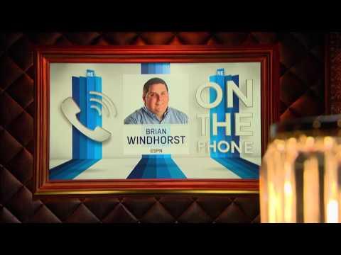 ESPN NBA Writer Brian Windhorst Giannis Antetokounmpo Being The Next MVP - 4/19/17