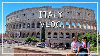 [ITALY VLOG] 이탈리아 여행 브이로그!  #1…