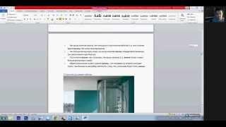 Дизайн интерьера - видеоурок 06.04.2014 (Ванная комната)