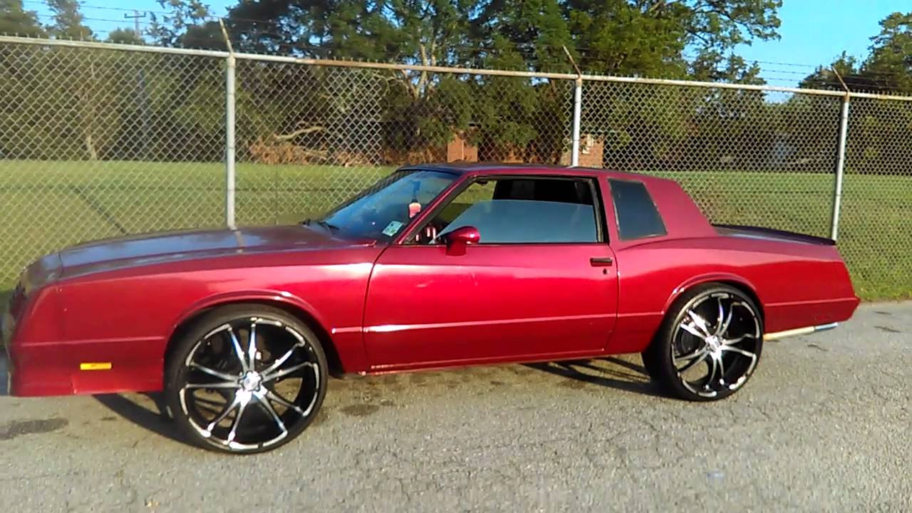 85 SS Monte Carlo On 24 Inch Forte Rims