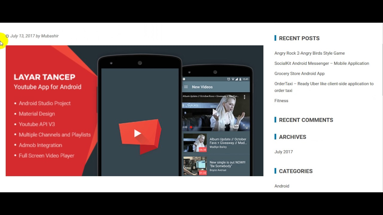 youtube app free download for mobile