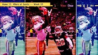 49ers vs. Saints Week 10 highlights (#11 game in 2014)