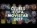 Clubes Copa Movistar | 2017 | Planeta Perucho