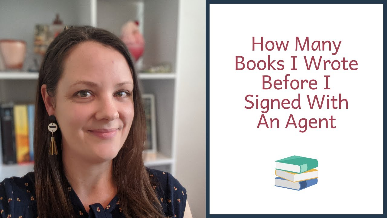 How Many Books I Wrote Before Signing With An Agent