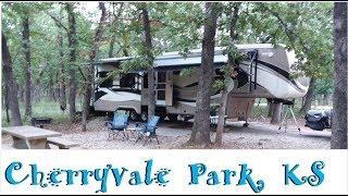 Cherryvale Park, KS - Our Favorite Park So Far!