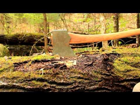 Wet Day In The Adirondacks - New Axes, Sheaths, Council Tool Velvicut