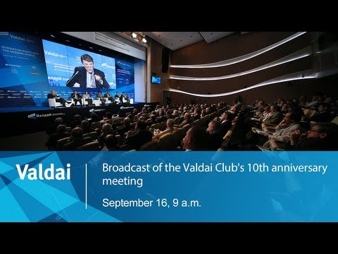 Broadcast of the Valdai Club's 10th Anniversary Meeting