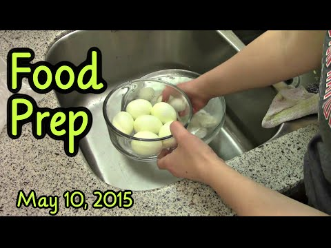 Food Prep  Boiled Eggs, Freezing Produce, Burger Buns and More