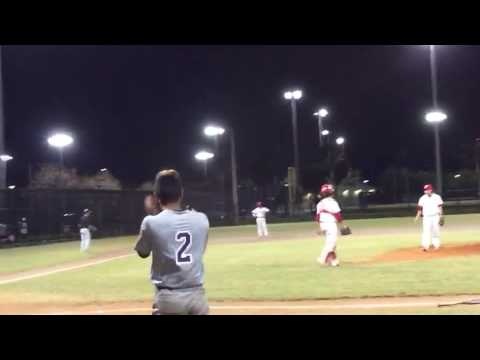 Justin Worley Home run against Monsignor Pace