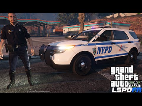 GTA 5 LSPDFR 0.3 Police Mod 90 | NYPD Highway Patrol Ford Explorer | High Speed Pursuit