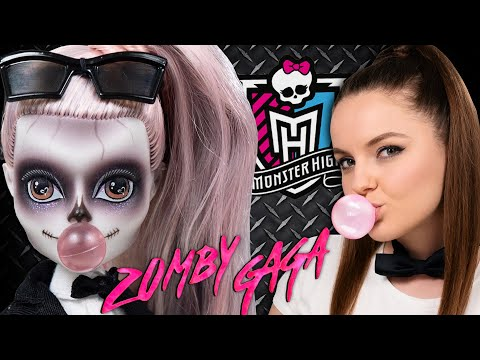 Zomby Gaga Monster High: обзор и распаковка | Зомби Гага Монстр Хай