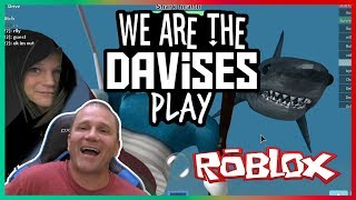 My Invisible Buddy | Roblox Sharkbite EP-23 Revised | We Are The Davises Gaming