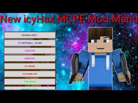 [Made Long Time ago]New icyHax MCPE Modmenu(Download)