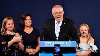 Australian opposition leader concedes defeat to Prime Minister Scott Morrison