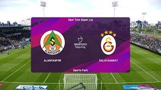 PES 2020   Alanyaspor vs Galatasaray - Turkish Cup  05/02/2020   1080p 60FPS