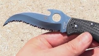 Spyderco Matriarch Emerson Wave, Folding Knife