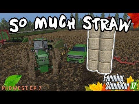 WRAPPING UP STRAW | Farming Simulator 2017