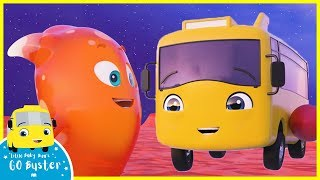 Buster the Rocket Bus Goes Space Exploring SONG | Go Buster | Baby Cartoons | Kids Videos