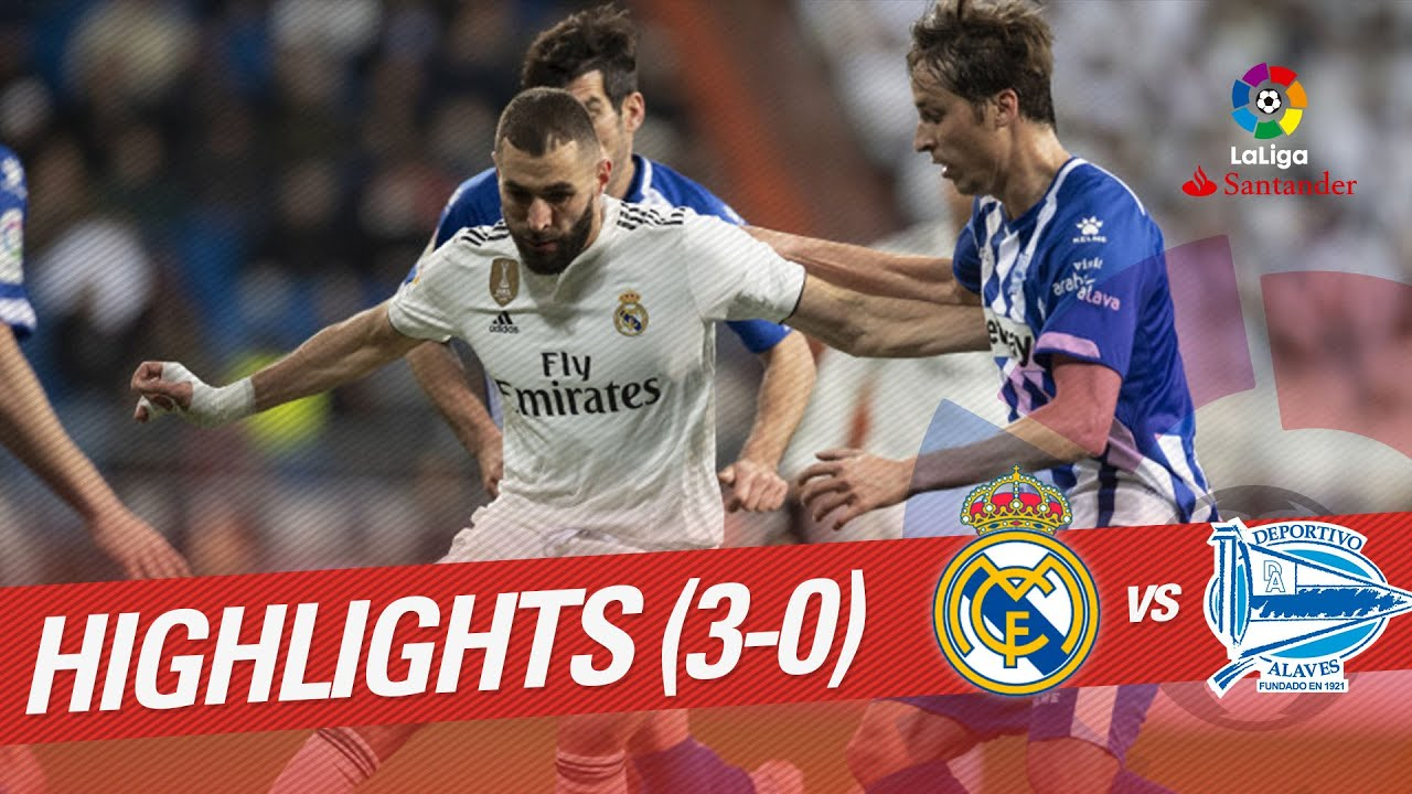 Highlights Real Madrid Vs Deportivo Alaves 3 0 Youtube