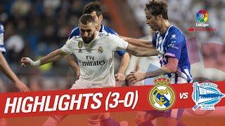 Highlights Real Madrid vs Deportivo Alaves (3-0)