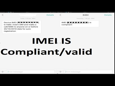 IMEI is Compliant or Valid what does it means PTA ?