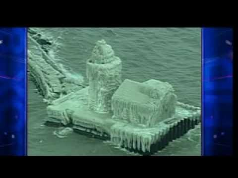 Cleveland Lighthouse Covered in Ice  (Full Story)