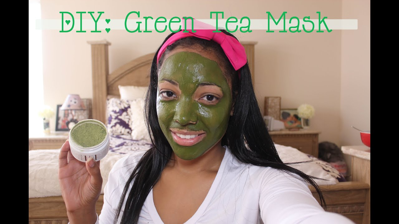 Diy green tea face mask youtube solutioingenieria Images