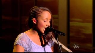 Jamie Grace - Hold Me (Live on The View 07-24-2012) [HD]