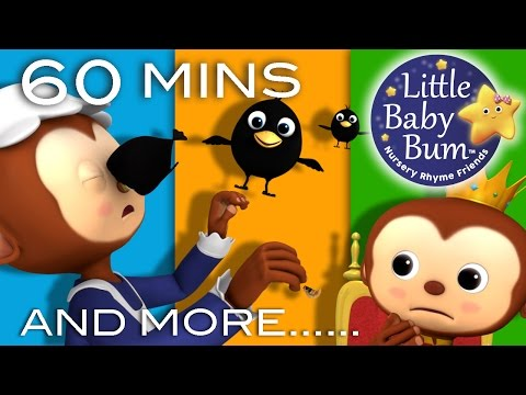 Sing a Song of Sixpence  Plus Lots More Nursery Rhymes  60 Minutes Compilation from LittleBaBum!