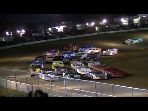 RUSH Crate Late Model Feature | McKean County Raceway | 8-14-14