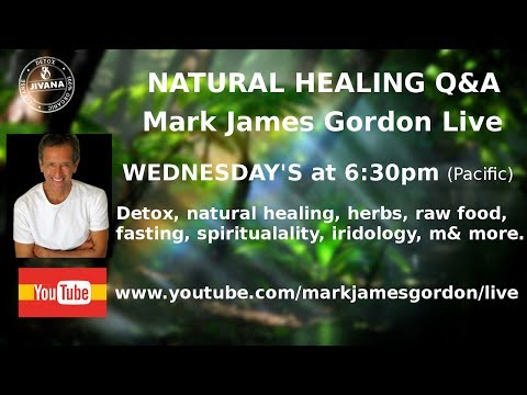 WEDNESDAY'S LIVE - - DIY HEALING Q&A   NEXT SHOW ON November 8, 2017