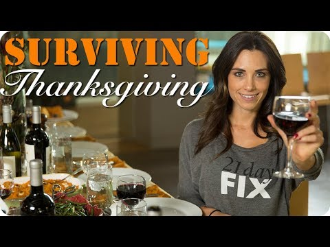 How to SURVIVE THANKSGIVING DINNER | 21 Day Fix Approved Recipes