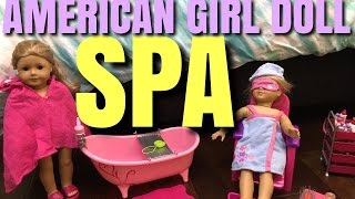 American Girl Doll Spa