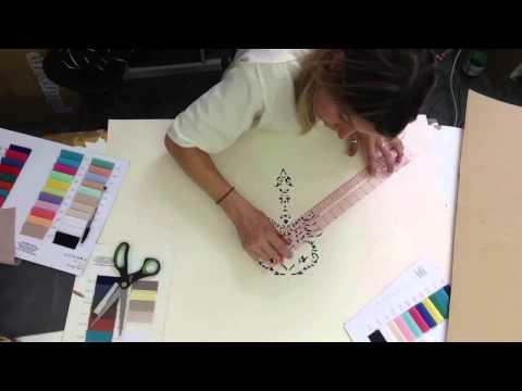 Georgia Hardinge Designing her SS2016 Dynasty Collection