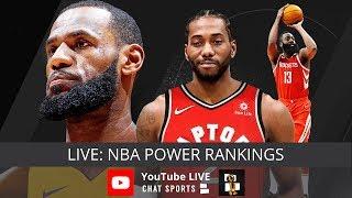 NBA Rumors, NBA Power Rankings Heading Into The 2018-19 Season thumbnail